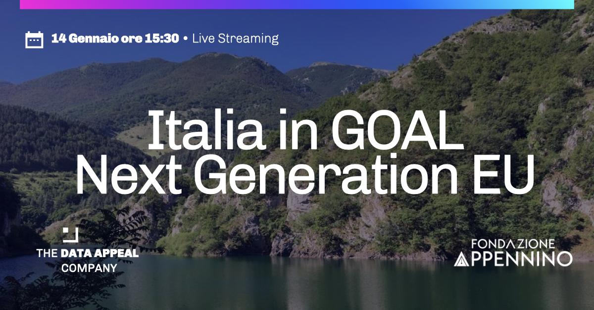 Italia in GOAL NextGenerationEU